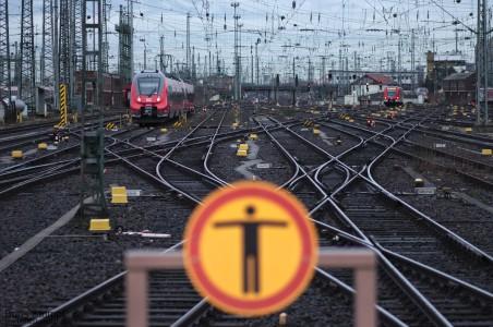 Gleise Hauptbahnhof