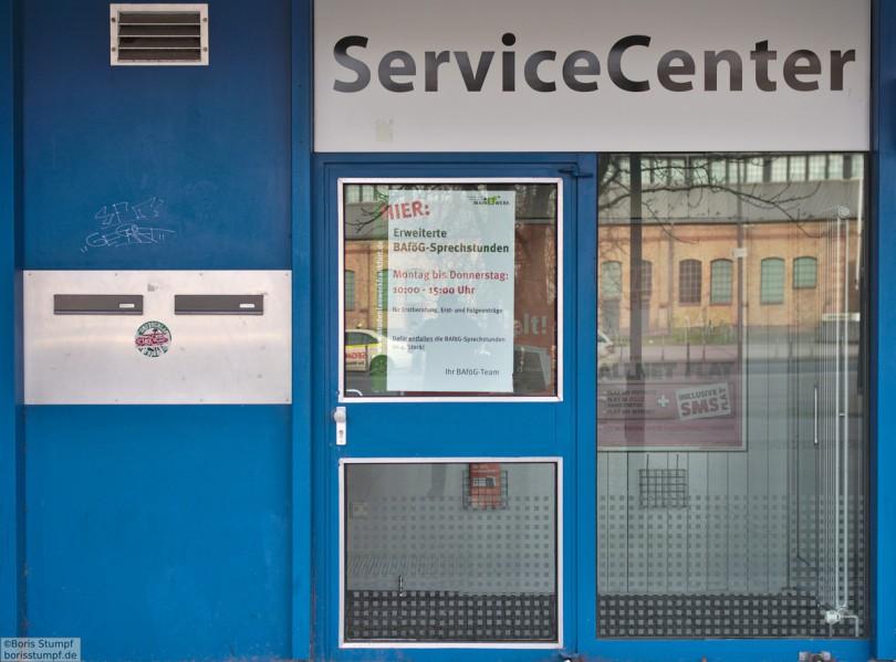 Servicecenter Campus Bockenheim