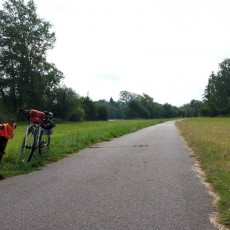 Mainradweg vor Seligenstadt