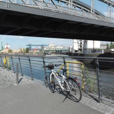 Mit dem Rad im Osthafengebiet 5