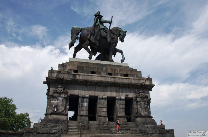 Koblenz, am Deutschen Eck