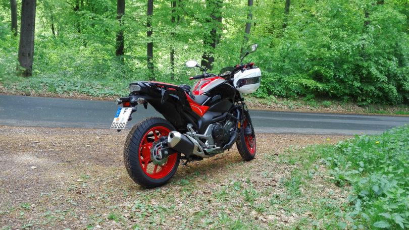 Motorrad - Tour-Pause