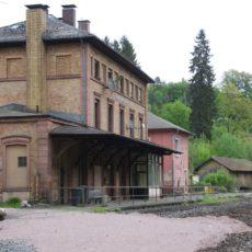 Heigenbrücken, Bahnhof