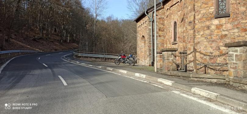 Im Hunsrück, kurz vor Rheinböllen