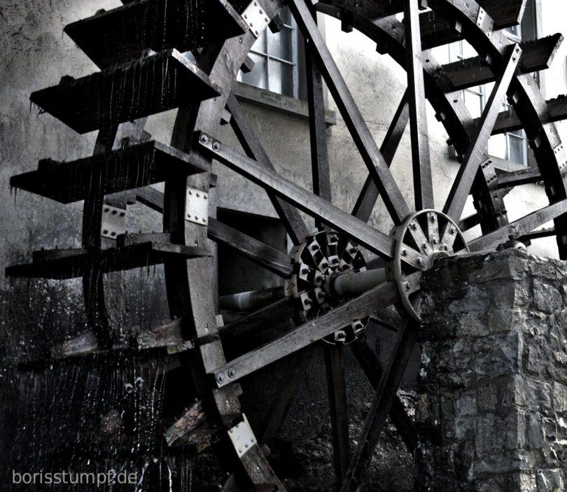 Wassermühle am Rheinfall bei Schaffhausen